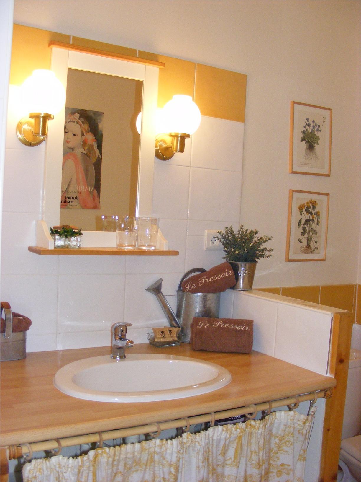 Chambre Cléry la salle d`eau
