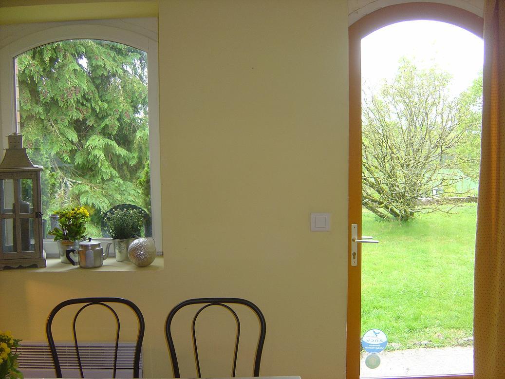 chambre Pressoir vue de la cuisine